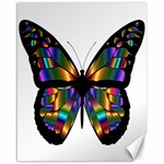 Abstract Animal Art Butterfly Canvas 16  x 20   20 x16  Canvas - 1