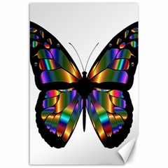 Abstract Animal Art Butterfly Canvas 24  X 36