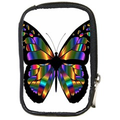 Abstract Animal Art Butterfly Compact Camera Cases by Nexatart
