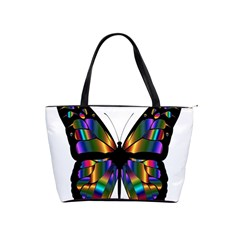 Abstract Animal Art Butterfly Shoulder Handbags