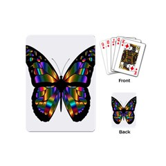 Abstract Animal Art Butterfly Playing Cards (mini)