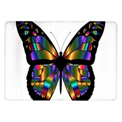 Abstract Animal Art Butterfly Samsung Galaxy Tab 10 1  P7500 Flip Case