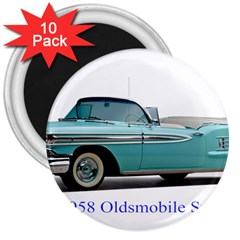 1958 Oldsmobile Super 88 J2 2a 3  Magnets (10 Pack)  by Jeannel1