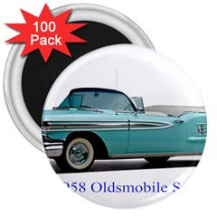 1958 Oldsmobile Super 88 J2 2a 3  Magnets (100 Pack) by Jeannel1