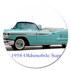 1958 Oldsmobile Super 88 J2 2a Magnet 5  (round) by Jeannel1