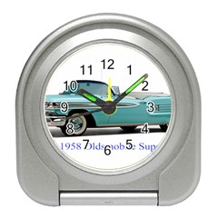 1958 Oldsmobile Super 88 J2 2a Travel Alarm Clocks by Jeannel1