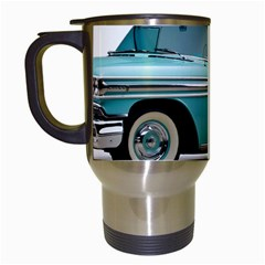 1958 Oldsmobile Super 88 J2 2a Travel Mugs (white) by Jeannel1