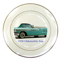 1958 Oldsmobile Super 88 J2 2a Porcelain Plates by Jeannel1