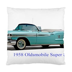 1958 Oldsmobile Super 88 J2 2a Standard Cushion Case (two Sides) by Jeannel1