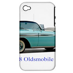 1958 Oldsmobile Super 88 J2 2a Apple Iphone 4/4s Hardshell Case (pc+silicone) by Jeannel1