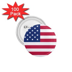 American Flag 1 75  Buttons (100 Pack)