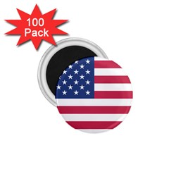 American Flag 1 75  Magnets (100 Pack)