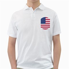 American Flag Golf Shirts