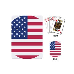American Flag Playing Cards (mini)