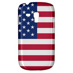 American Flag Galaxy S3 Mini by Nexatart