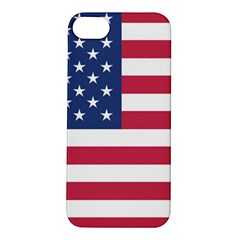 American Flag Apple Iphone 5s/ Se Hardshell Case by Nexatart