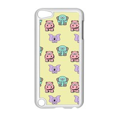 Animals Pastel Children Colorful Apple Ipod Touch 5 Case (white) by Nexatart