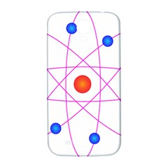 Atom Model Vector Clipart Samsung Galaxy S4 I9500/i9505  Hardshell Back Case by Nexatart