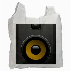 Audio Loadspeaker Activ Recycle Bag (one Side) by Nexatart