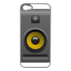 Audio Loadspeaker Activ Apple Iphone 5 Case (silver)