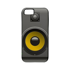Audio Loadspeaker Activ Apple Iphone 5 Classic Hardshell Case (pc+silicone)