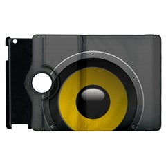 Audio Loadspeaker Activ Apple Ipad 3/4 Flip 360 Case