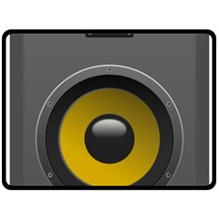 Audio Loadspeaker Activ Double Sided Fleece Blanket (large)