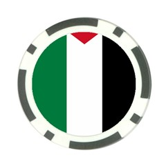 Palestine Flag Poker Chip Card Guard