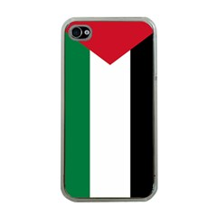 Palestine Flag Apple Iphone 4 Case (clear)