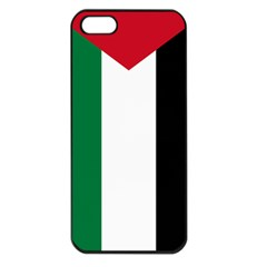 Palestine Flag Apple Iphone 5 Seamless Case (black)