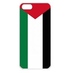 Palestine Flag Apple Iphone 5 Seamless Case (white)