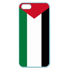 Palestine Flag Apple Seamless Iphone 5 Case (color)