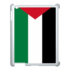 Palestine Flag Apple Ipad 3/4 Case (white)