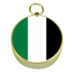 Palestine Flag Gold Compasses