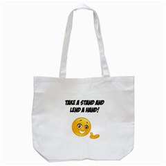 Take A Stand! Tote Bag (white) by athenastemple