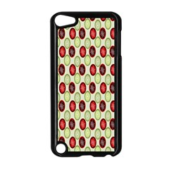 Christmas Pattern Apple Ipod Touch 5 Case (black) by Nexatart