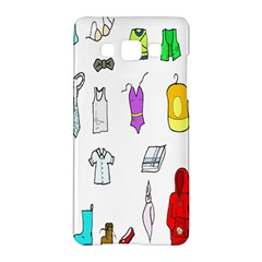 Clothing Boots Shoes Shorts Scarf Samsung Galaxy A5 Hardshell Case  by Nexatart