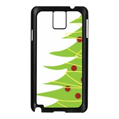 Christmas Tree Christmas Samsung Galaxy Note 3 N9005 Case (black) by Nexatart