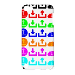Download Upload Web Icon Internet Apple Ipod Touch 5 Hardshell Case