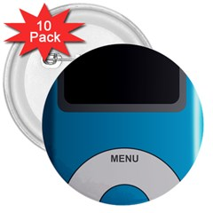 Digital Mp3 Musik Player 3  Buttons (10 Pack)