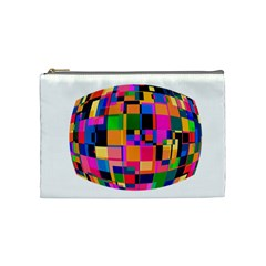 Color Focusing Screen Vault Arched Cosmetic Bag (medium)  by Nexatart
