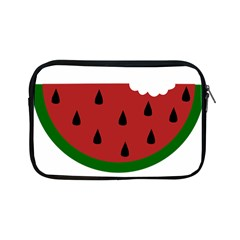 Food Slice Fruit Bitten Watermelon Apple Ipad Mini Zipper Cases by Nexatart