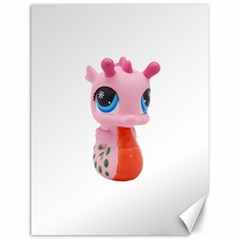 Dragon Toy Pink Plaything Creature Canvas 12  X 16   by Nexatart