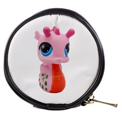 Dragon Toy Pink Plaything Creature Mini Makeup Bags by Nexatart