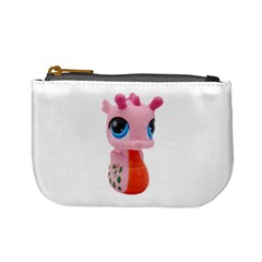 Dragon Toy Pink Plaything Creature Mini Coin Purses by Nexatart
