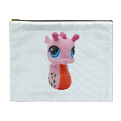 Dragon Toy Pink Plaything Creature Cosmetic Bag (xl)