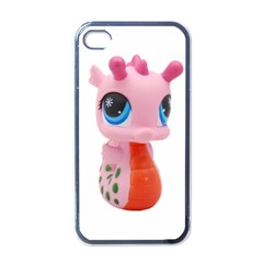 Dragon Toy Pink Plaything Creature Apple Iphone 4 Case (black) by Nexatart