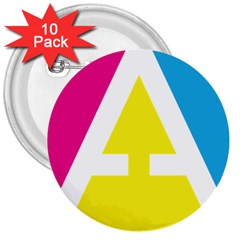 Graphic Design Web Design 3  Buttons (10 Pack)