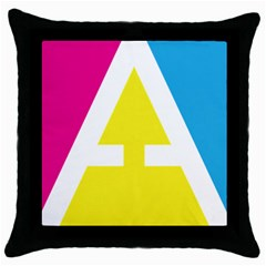 Graphic Design Web Design Throw Pillow Case (black) by Nexatart