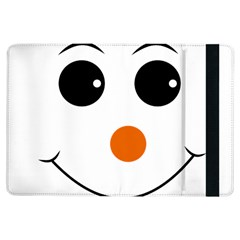 Happy Face With Orange Nose Vector File Ipad Air Flip